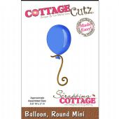 CottageCutz Dies - Round Mini Balloon - CC-MINI-101